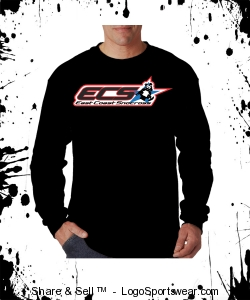 Adult Long Sleeve T Printed Design Zoom